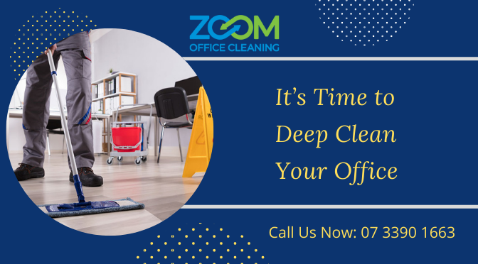 It's Time to Deep Clean Your Office